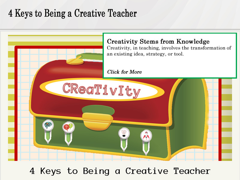 4 Keys To Being A Creative Teacher Guide Click for More
