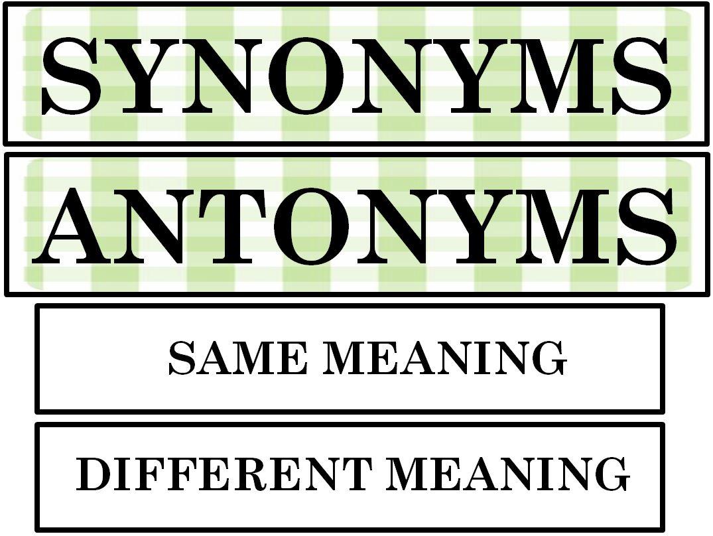 titel synonym