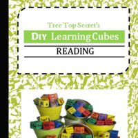 DIY Learning Cubes