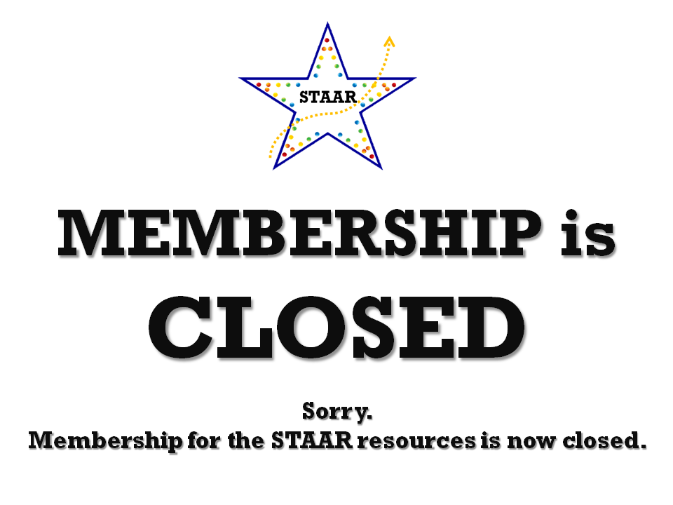 FAST TRACK STAAR Membership is Closed